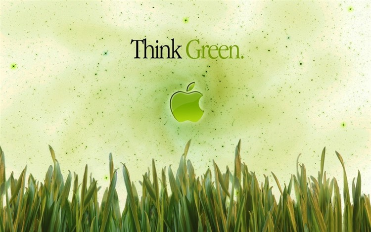 "Greenpeace omaggia Apple con una piccola variazione al suo slogan. Da ""Think Different"" a ""Think Green"""