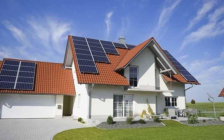 come funzionano pannelli solari