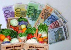 costo mangiare biologico
