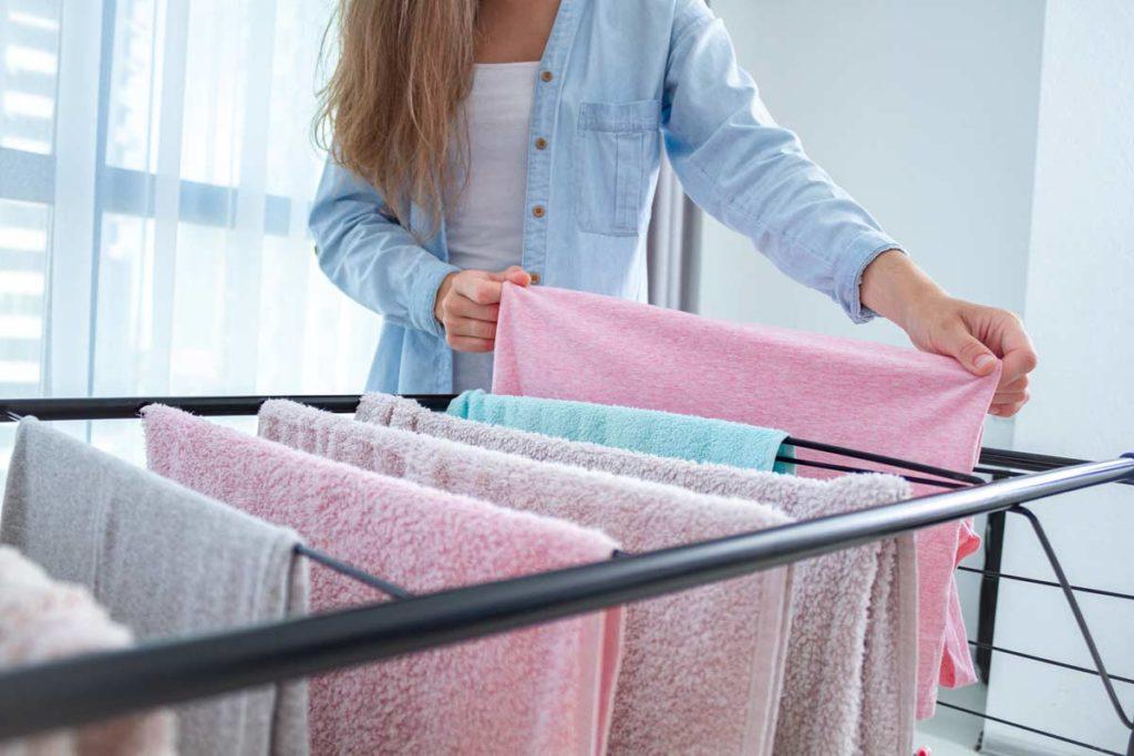 lavare lenzuoli asciugamana