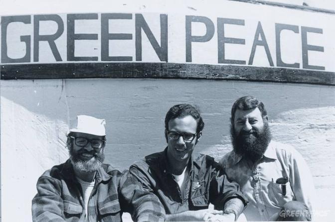 Fondatori Greenpace