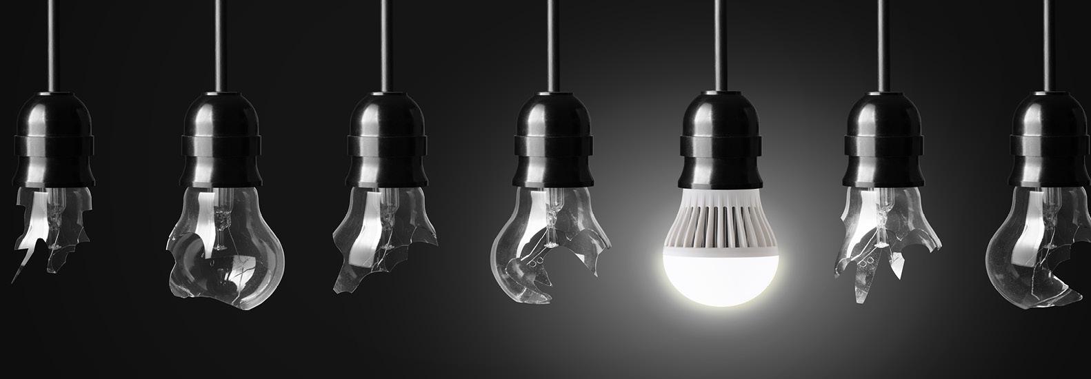 8 vantaggi dell'illuminazione LED