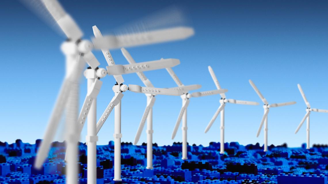 LEGO produrrà i mattoncini con energie rinnovabili