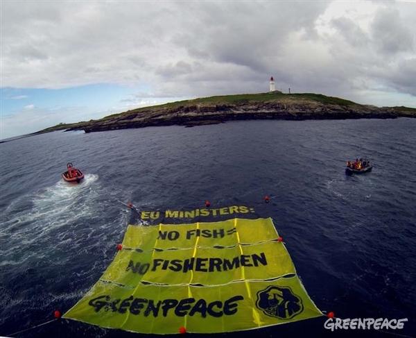 Lotta pesca indiscriminata greenpace