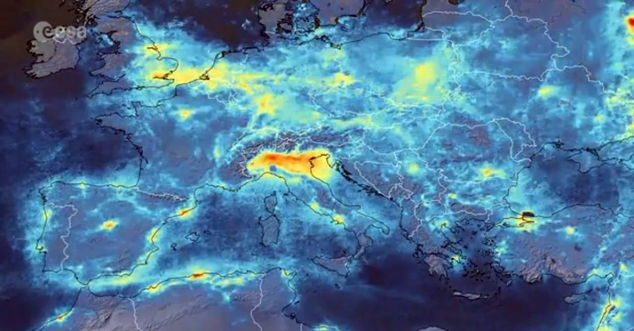 Perché la pianura padana è tra le aree più inquinate d'Europa?