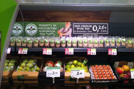 La crescita del mercato dei prodotti biologici farà scendere i prezzi?