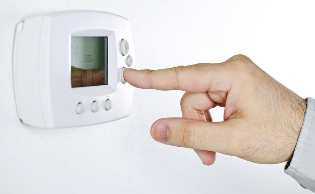 Risparmiare riscaldamento termostato