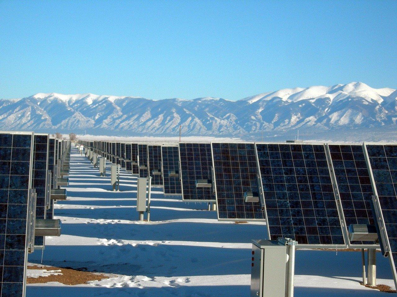 Fotovoltaico in inverno: cosa fare se nevica?