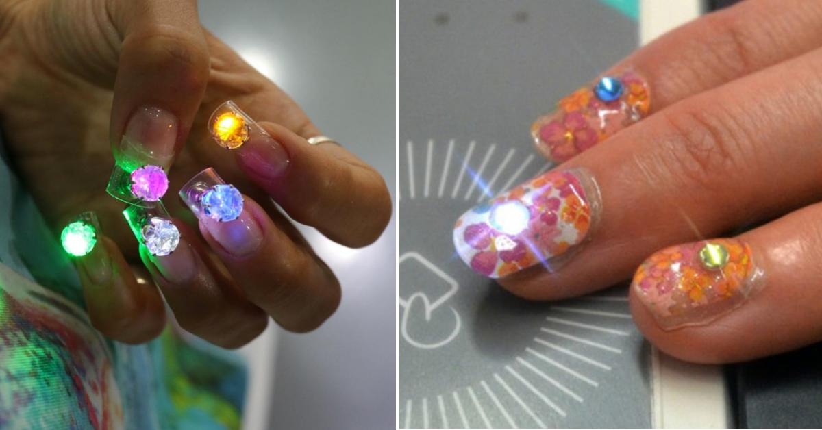 Unghie 2.0 con la Nail art LED